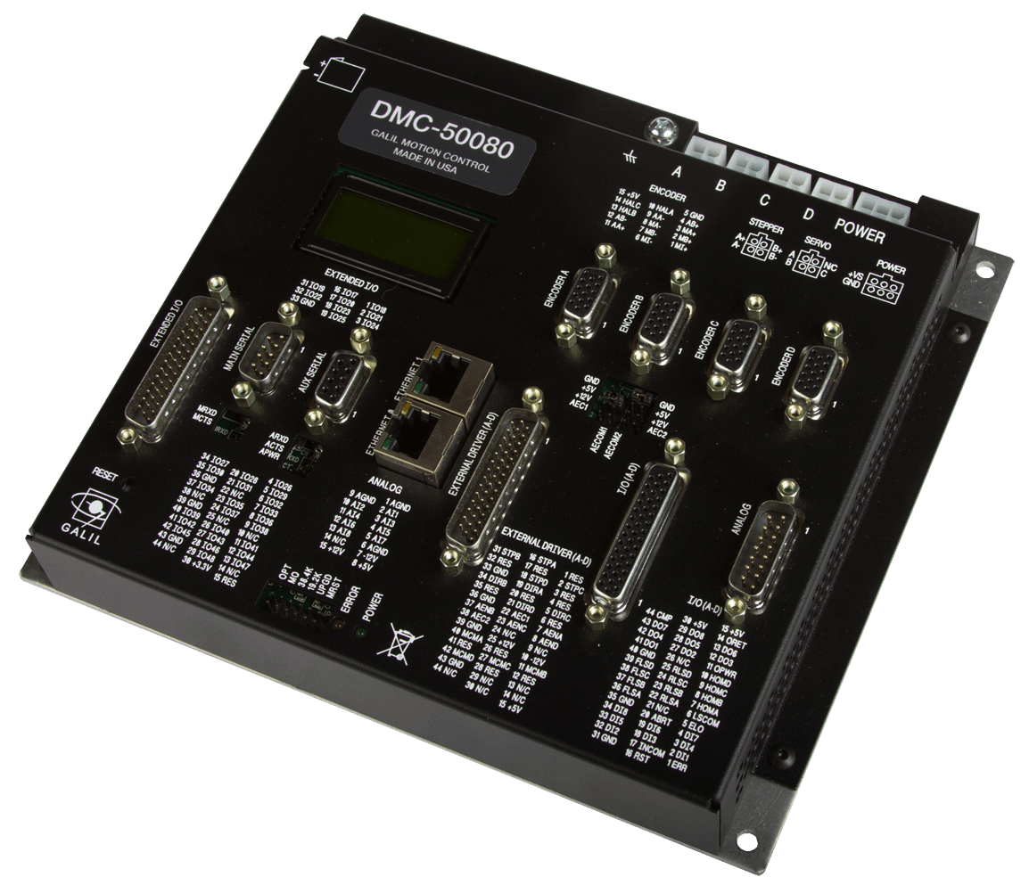 The New DMC-500x0 EtherCAT Controller
