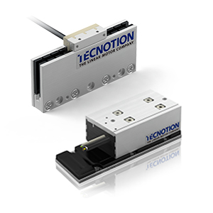 High performance in a small package: Tecnotions TM3 and UC3 linear motors!