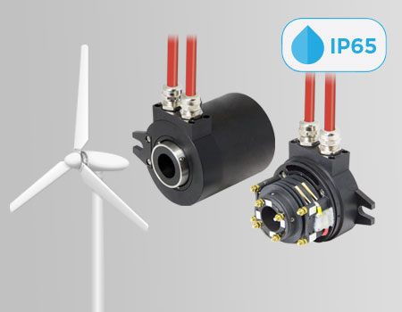 Slip Rings per Turbine Eoliche IP65