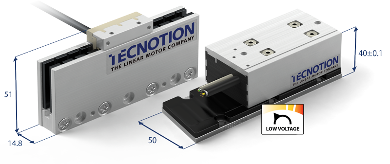 low voltage linear motors tecnotion - uc3 e tmz3