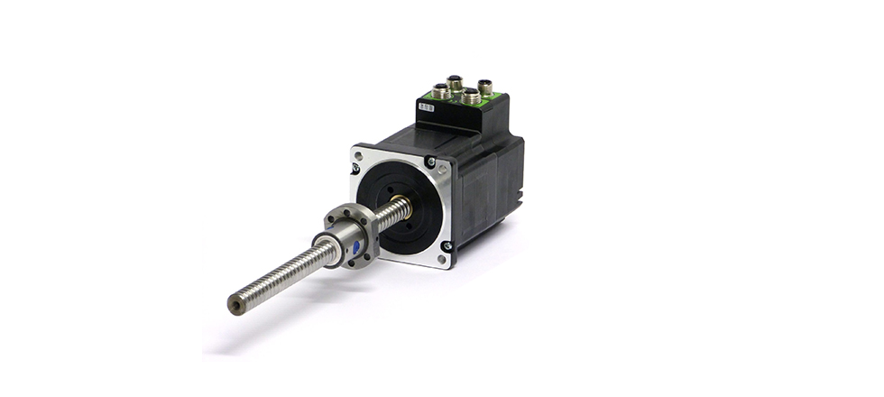 Mil34x Linear Stepper Actuator With Integrated Drive